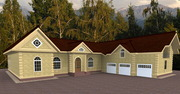 Индивидуальное проектирование домов и коттеджей,  зданий и сооружений.